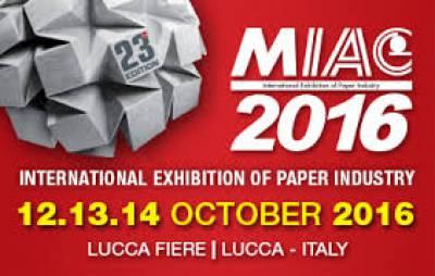 MIAC 2016 Lucca Fiera Internazionale Cartaria