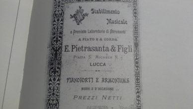 Antiche Botteghe Lucca Casa Musicale Pietrasanta
