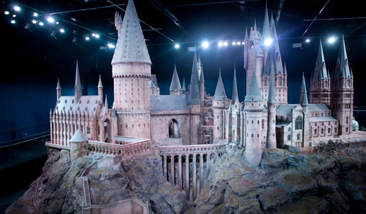 School of magic Castle Hogwarts