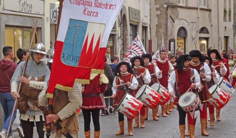 8th december 2018 Historical parade Lucca