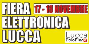 Electronic Fair Lucca November 2018