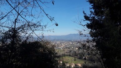 Panoramic view Lucca Cycling Route